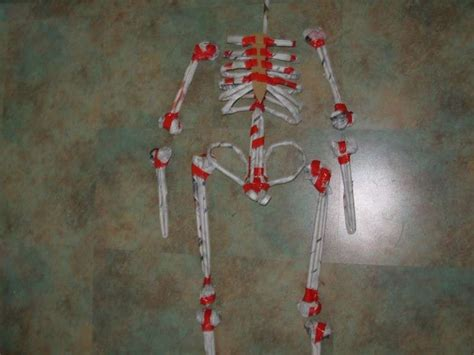 How To Make A Paper Skeleton - paper mache skeleton decoration tutorials