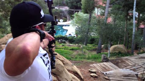 joe rogan house cam shooting over joe rogan s pool youtube