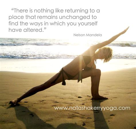 Yoga Beach Quotes