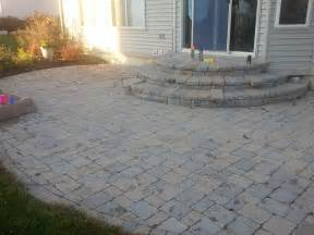 paver stone patio cost patio design ideas