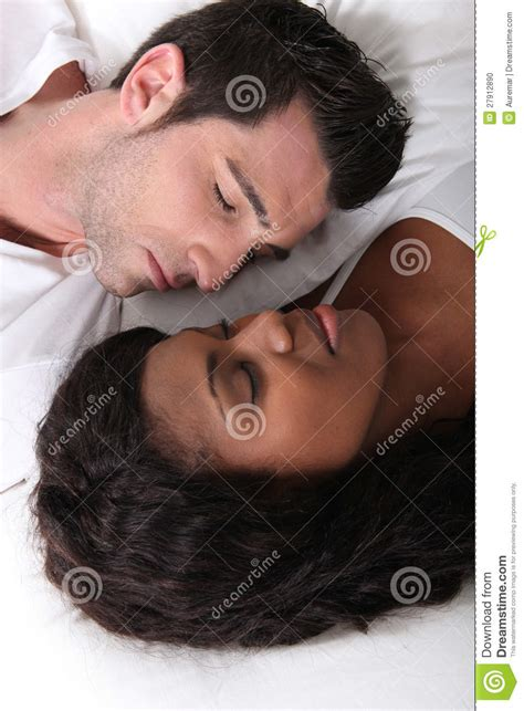 laying in bed couple laying in bed stock photography cartoondealer com