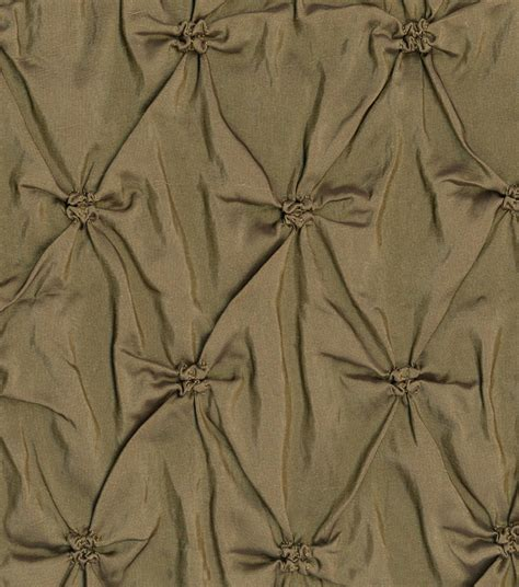 signature home decor home decor solid fabric signature series bronze pinched