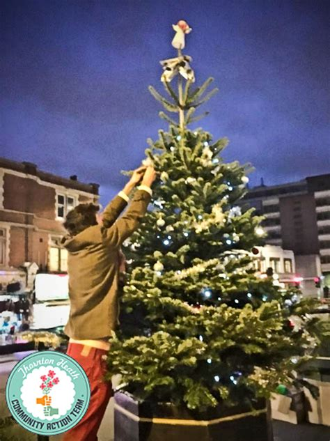setting up the christmas tree thornton heath community