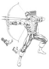 green arrow coloring pages coloring coloring pages - Green Arrow Coloring Pages