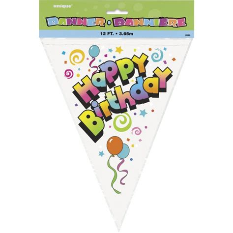 Special Edition Banner Flag Happy Birthday Merah magicballoons happy birthday flag banner