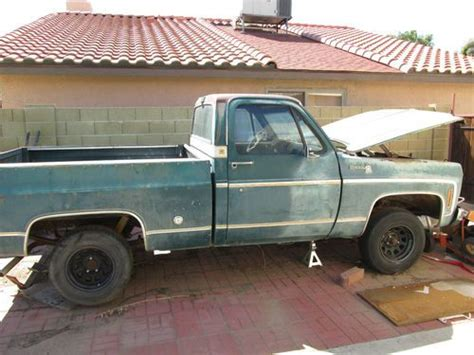 used chevy truck bed for sale purchase used 1977 chevy short bed silverado pick up for