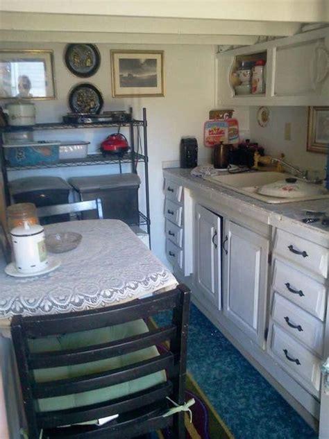grandma turns backyard shed into tiny home grandma turns backyard shed into tiny home