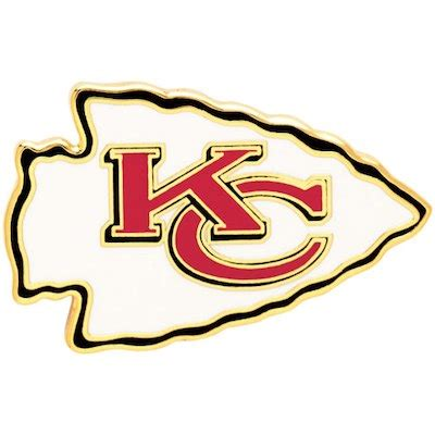 Emblem City By Kur Accesories kansas city chiefs wincraft collector primary logo pin