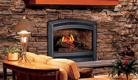superior lss35c spectra 35 quot top vent fireplace with log