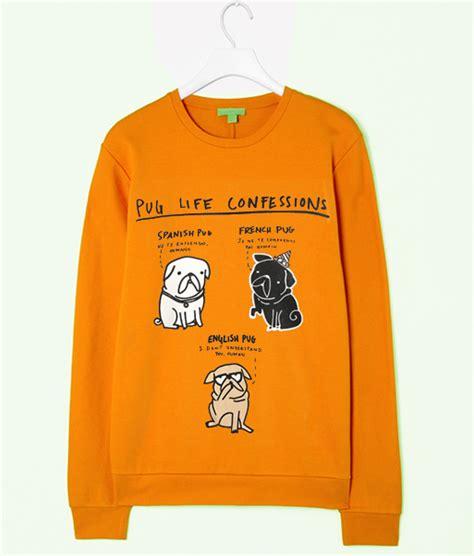 pug confessions sweatshirt pug confessions yellow sweatshirt