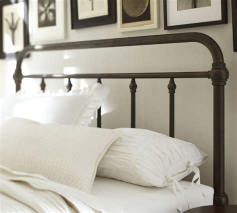 pottery barn metal bed alternate view remodel pinterest beds