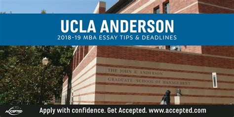 Ucla Mba Classes by Ucla Mba Essay Tips Deadlines The Gmat Club