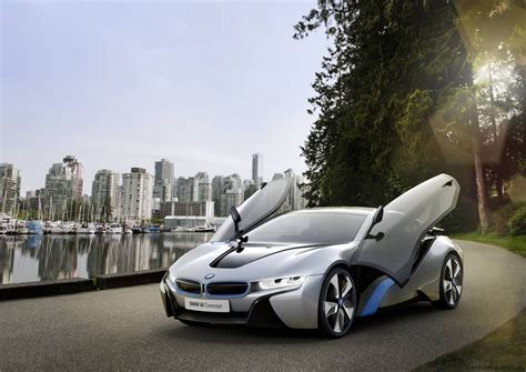 hybrid cars bmw bmw i8 concept plug in hybrid sports car in detail