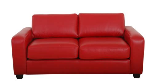 the red sofa couch home