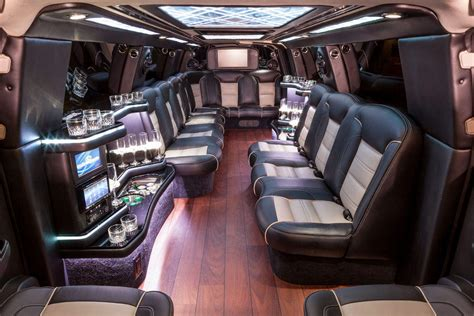 luxury limo luxury stretch limousine 16 passenger royal excursion