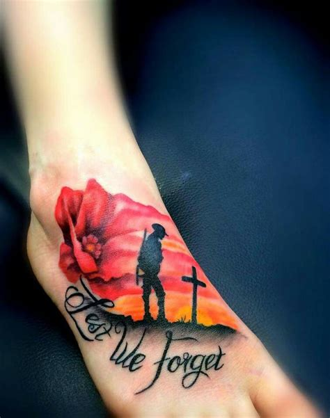 remember tattoo anzac day we will remember them rockstars tattoos