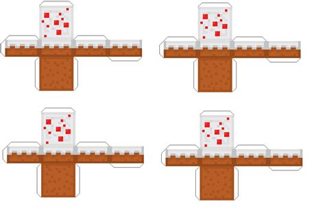 Minecraft Cake Papercraft - papercraft cake pack birthdays papercraft