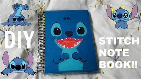 stitches diy diy stitch notebook
