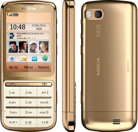 Handphone Nokia C3 Di Malaysia nokia c3 01 gold edition in malaysia price specs review technave