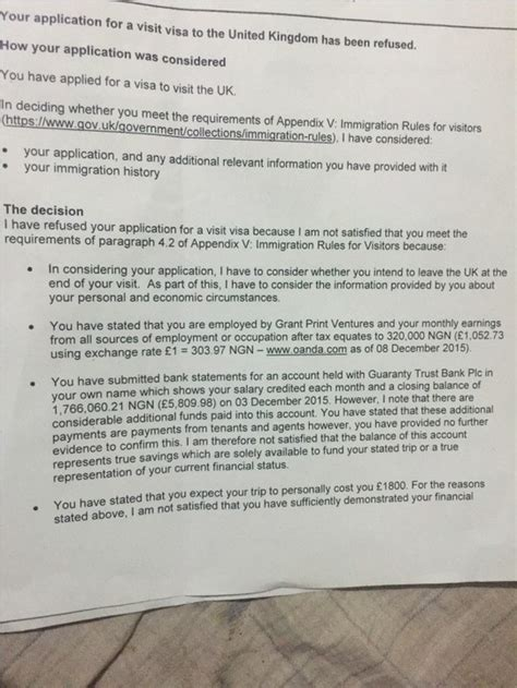 Bank Statement Letter For Uk Visa General Uk Visa Enquiries Part 3 Travel 38 Nigeria