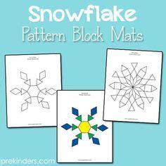 pattern block lesson plans for kindergarten jessica s pattern block mats printables santa s sleigh