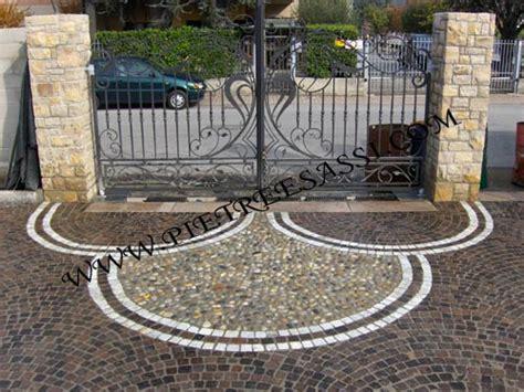 pavimento da esterno carrabile decorazione pavimento in pietra carrabile pietreesassi