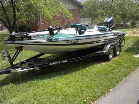 stratos bass boat accessories 1997 stratos pro elite dc bass boat tennessee sold