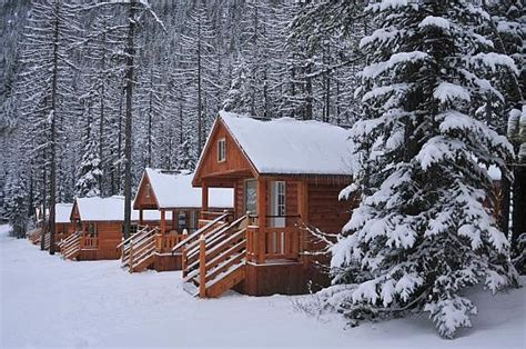 cabins in montana winter from missoula area events network