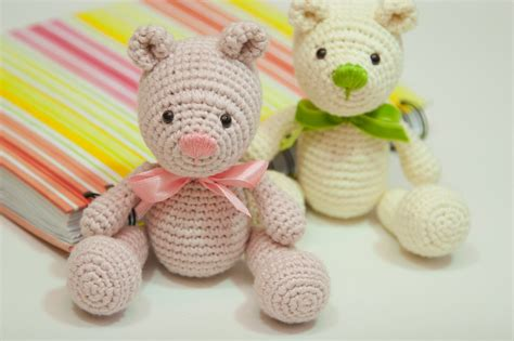 Handmade Teddy Patterns - happyamigurumi amigurumi teddy bears new crochet