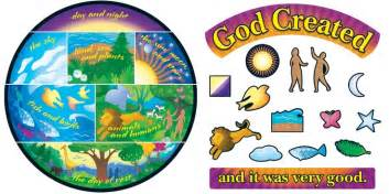 7 days of creation crafts creation bulletin board sets