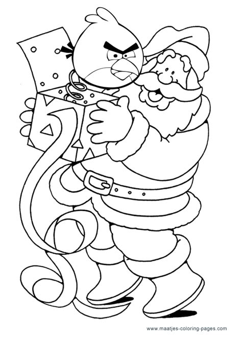angry birds coloring pages christmas angry birds christmas coloring pages new calendar