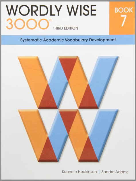 Wordly Wise 3000 Book 7 Systematic Academic Vocalulary
