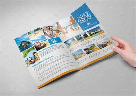 travel agency brochure template 26 travel brochure designs design trends premium psd