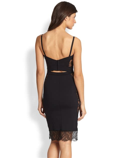 Dress La lyst la perla shape convertible slip dress in black