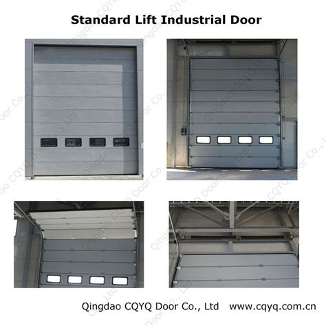 sectional industrial doors automatic sectional industrial doors china sectional