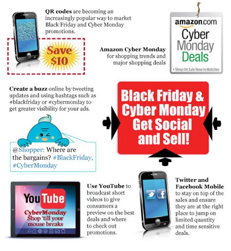 cyber sell black friday cyber monday get social and sell web