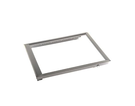 frigidaire upper crisper drawer cover frigidaire part 240350702 upper crisper shelf frame no