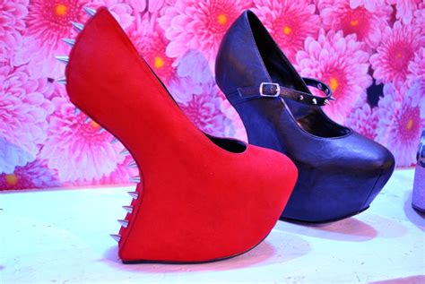 high heel shoes without heel schuh shoes aw 12 no heel studded suede high heels