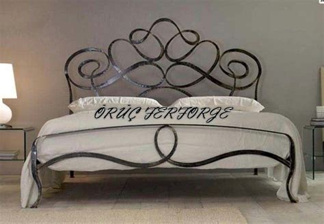 rod iron bed frame wrought iron bed frame home garden pinterest