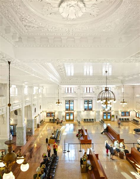 Interior Architects Seattle by Seattle S Historic King Station Restored Photo Location And In Time