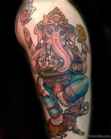 ganesh tattoos 40 god ganesha tattoos on thigh
