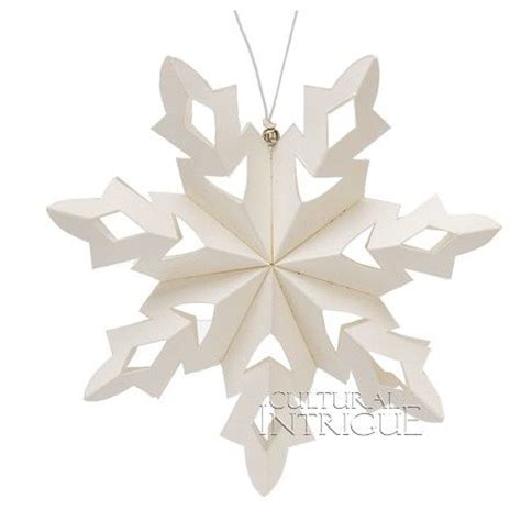 Origami Snowflake Design - the world s catalog of ideas