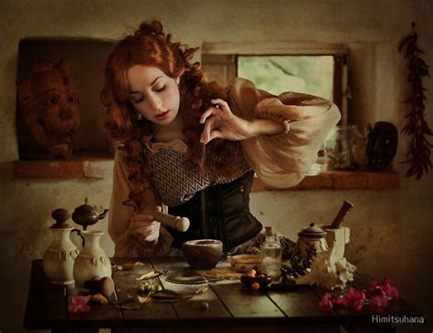 Kitchen Magick Quot The Of A Potion Quot By Himitsuhana Redbubble