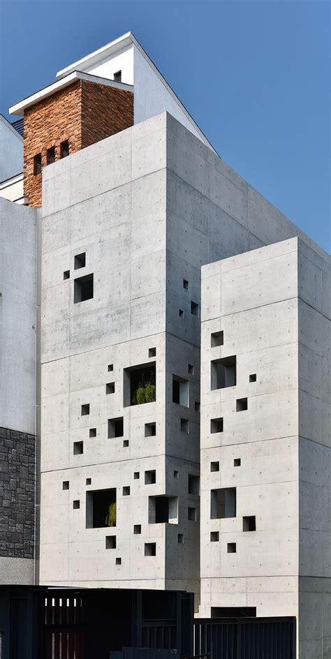 Architectural Design Construction Home Builders Best 25 Concrete Facade Ideas On Facades