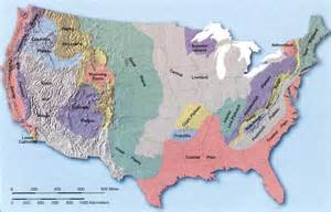 united states map landforms landforms of the united states it all