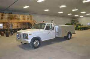 86 Ford Truck Sell Used 86 Ford Service Truck With New Diesel Motor In