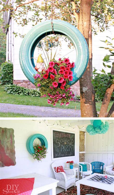Deco Pneu Jardin by Id 233 Es D 233 Co Pour La Maison Et Le Jardin 224 L Aide De Pneus