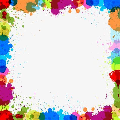 color frame color ink border color ink marks frame png and vector