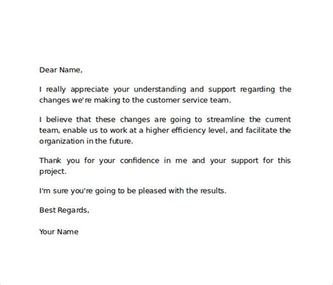 thank you letter to team to support resignation letter format grateful note resignation