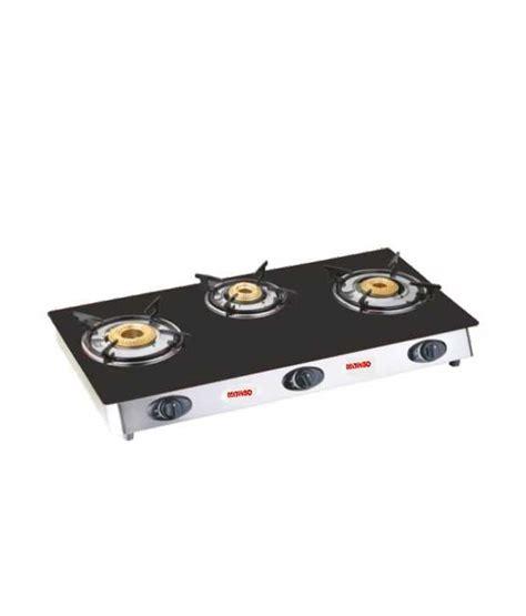 3 Burner Cooktop Mitaso 3 Burner Glass Gas Cooktop Price In India Buy